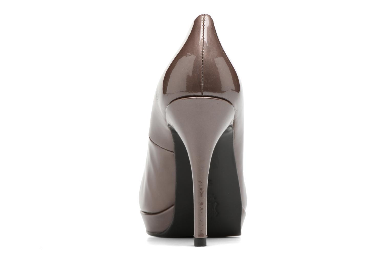 Zapatos de tacón Anna Volodia Copla Marrón vista lateral derecha