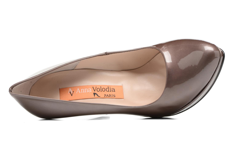 Zapatos de tacón Anna Volodia Copla Marrón vista lateral izquierda