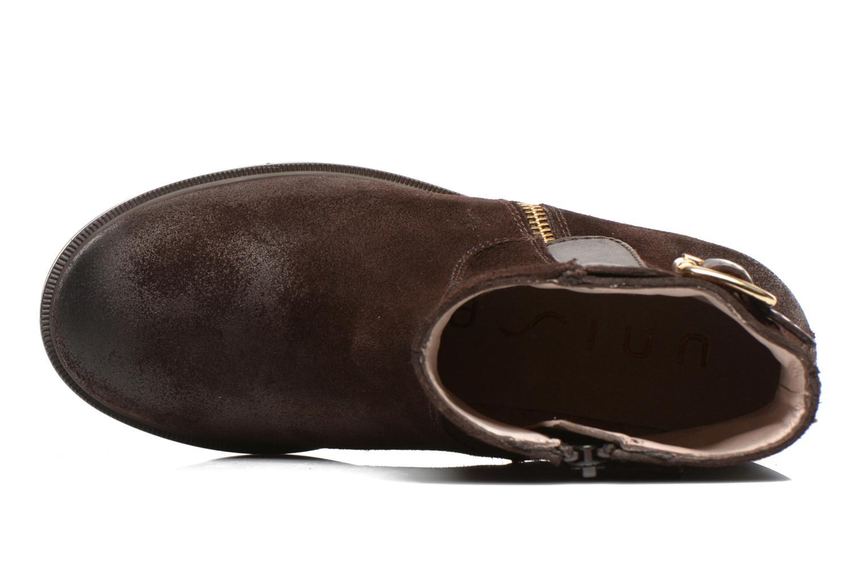 Bottines et boots Unisa Adaris Marron vue gauche