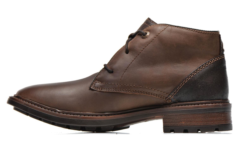 Chaussures à lacets Josef Seibel Oscar II Marron vue face