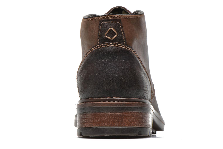 Chaussures à lacets Josef Seibel Oscar II Marron vue droite