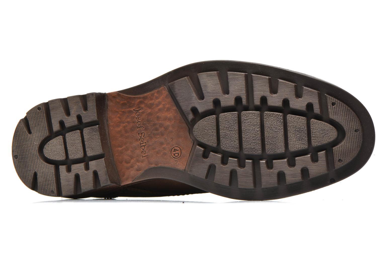 Chaussures à lacets Josef Seibel Oscar II Marron vue haut