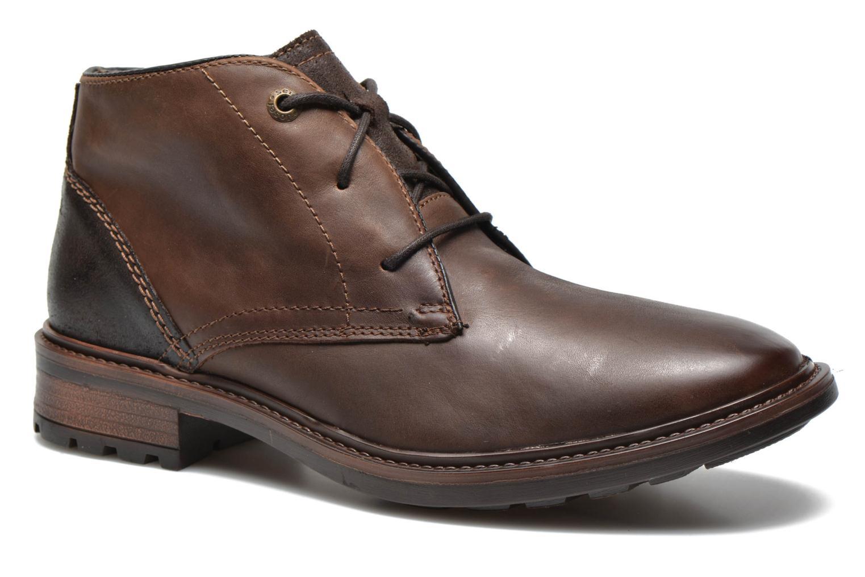 Chaussures à lacets Josef Seibel Oscar II Marron vue détail/paire