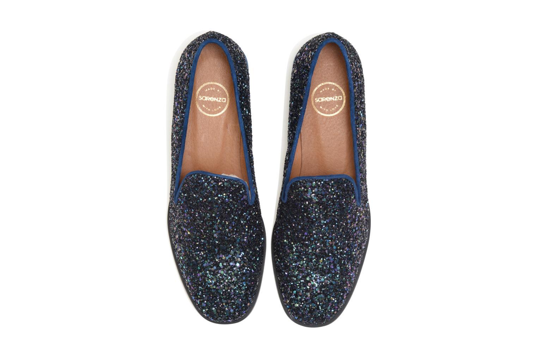 Mocassins SARENZA HAPPY10 Merry Mocassin Bleu vue portées chaussures