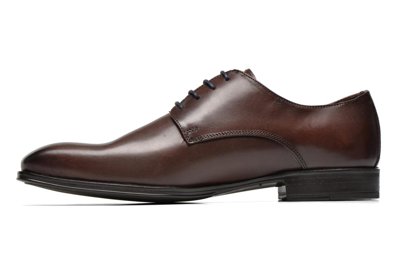 Chaussures à lacets Marvin&Co Thermine Marron vue face