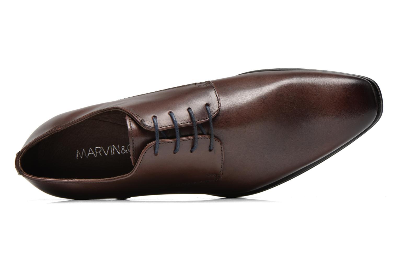 Chaussures à lacets Marvin&Co Thermine Marron vue gauche