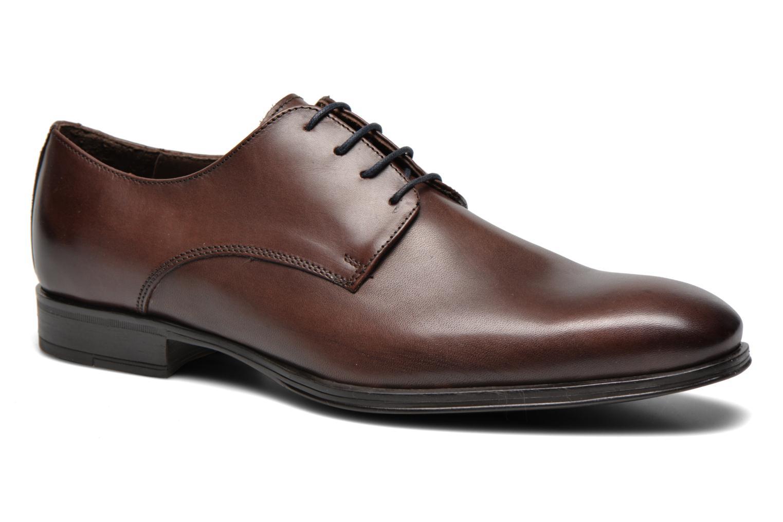 Chaussures à lacets Marvin&Co Thermine Marron vue détail/paire