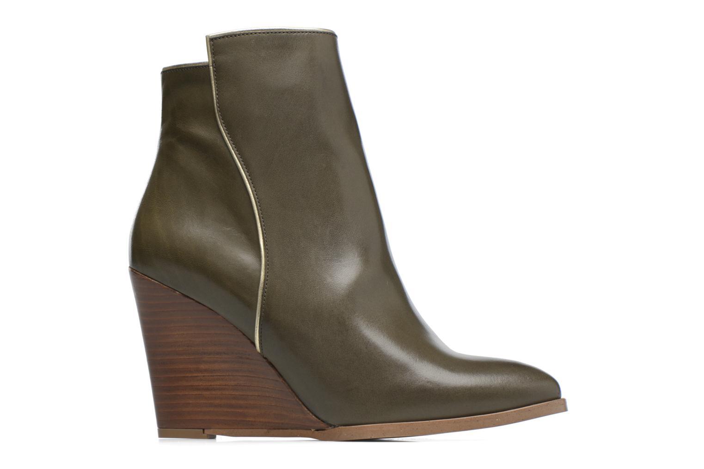 Boots Camp #11 Cuir Lisse Kaki