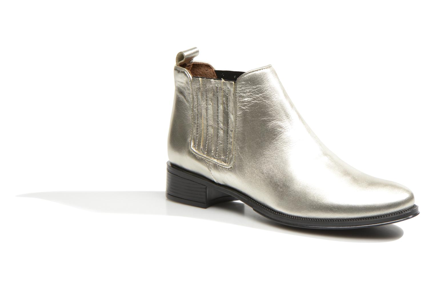 Bottines et boots Made by SARENZA Busy Girl Bottines Plates #4 Argent vue droite