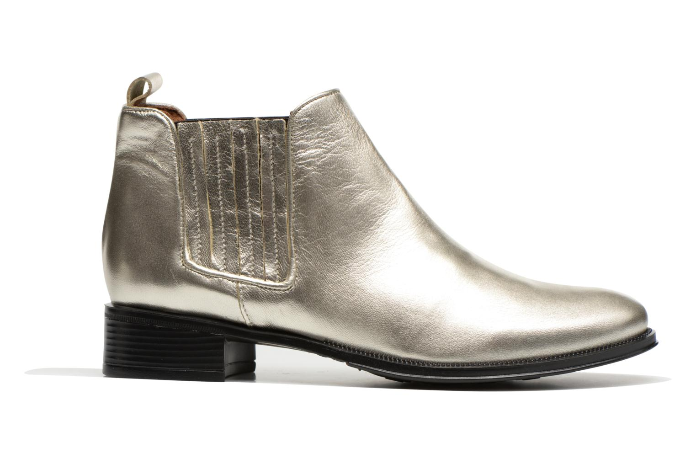 Bottines et boots Made by SARENZA Busy Girl Bottines Plates #4 Argent vue détail/paire