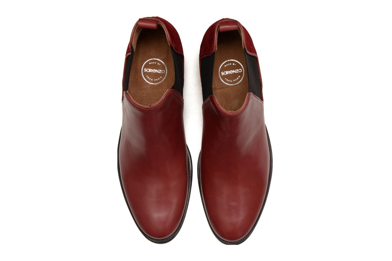 Bottines et boots Made by SARENZA Busy Girl Bottines Plates #4 Bordeaux vue portées chaussures