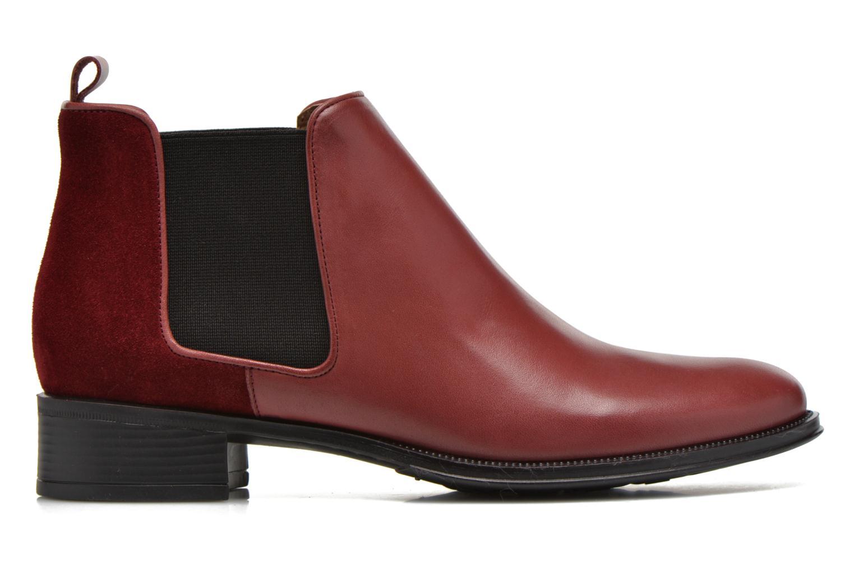 Bottines et boots Made by SARENZA Busy Girl Bottines Plates #4 Bordeaux vue détail/paire