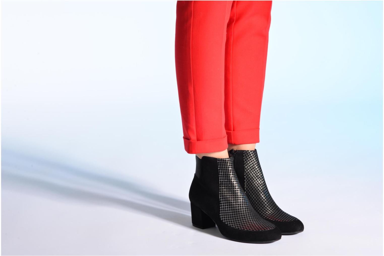 Bottines et boots Made by SARENZA Pop Party #9 Noir vue bas / vue portée sac