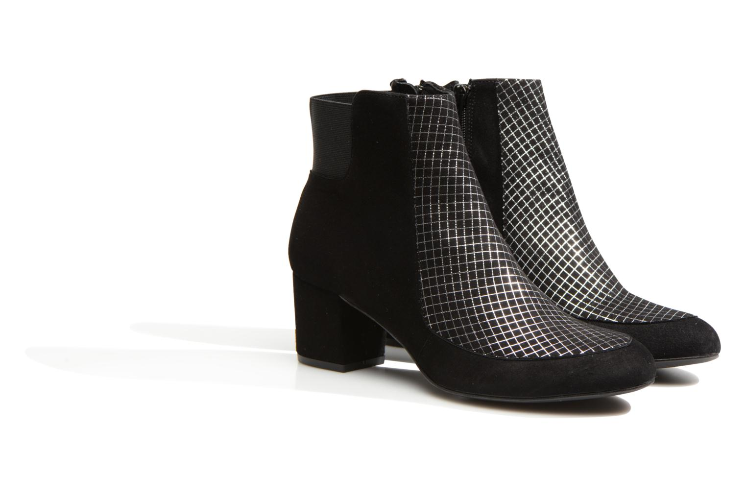 Ankle boots Made by SARENZA Pop Party #9 Black back view