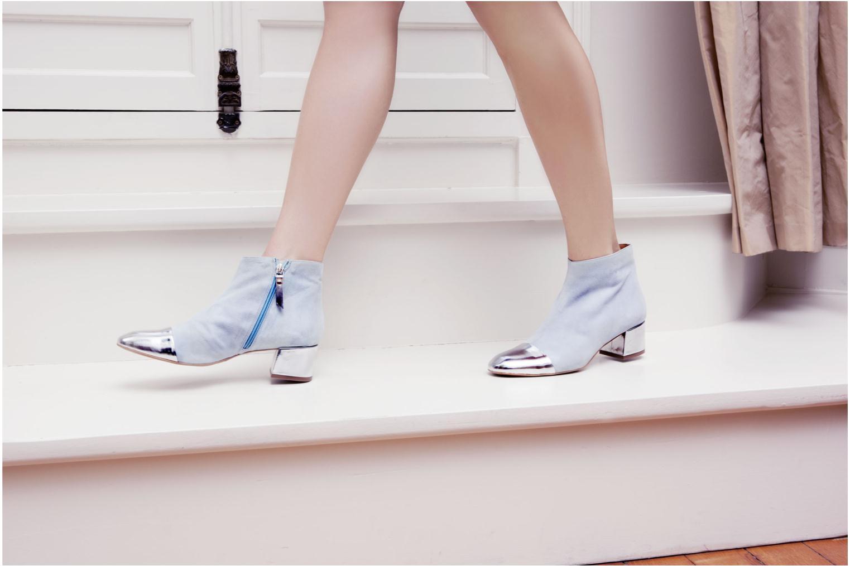 Bottines et boots Made by SARENZA Donut hut #7 Bleu vue 3/4