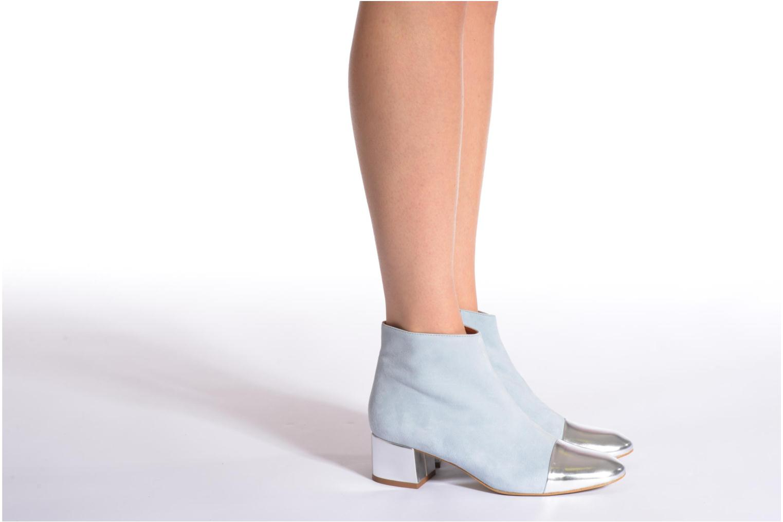 Bottines et boots Made by SARENZA Donut hut #7 Bleu vue bas / vue portée sac