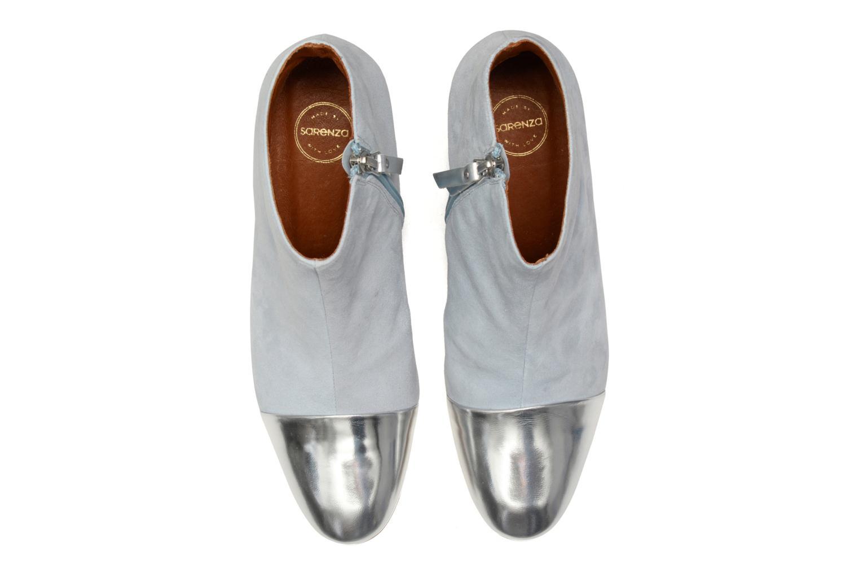 Bottines et boots Made by SARENZA Donut hut #7 Bleu vue portées chaussures