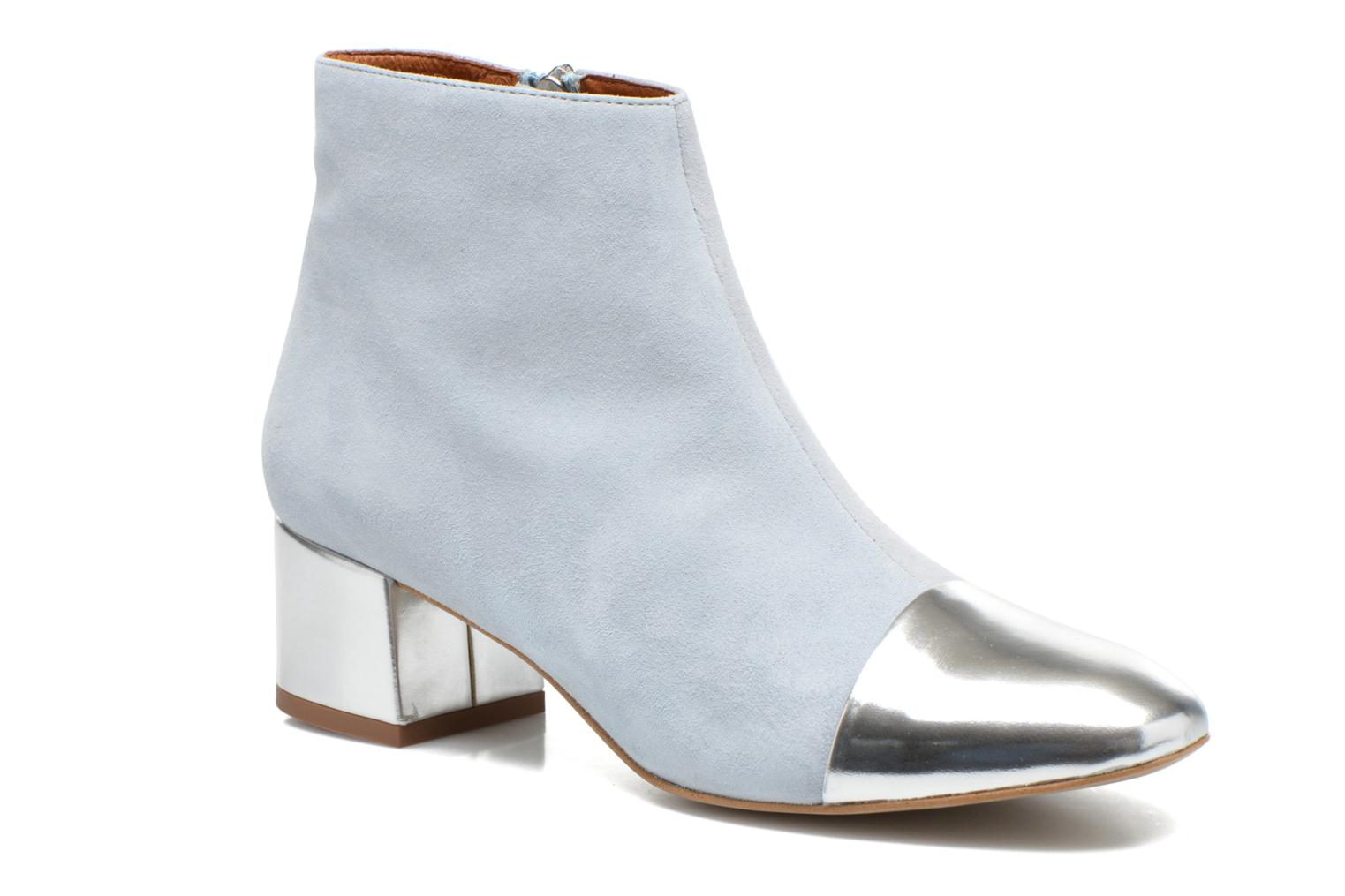 Ankle boots Made by SARENZA Donut hut #7 Blue view from the right