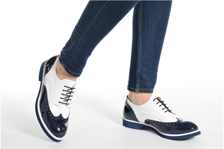 Zapatos con cordones Made by SARENZA Busy Girl Chaussures à Lacets #3 Blanco vista de abajo
