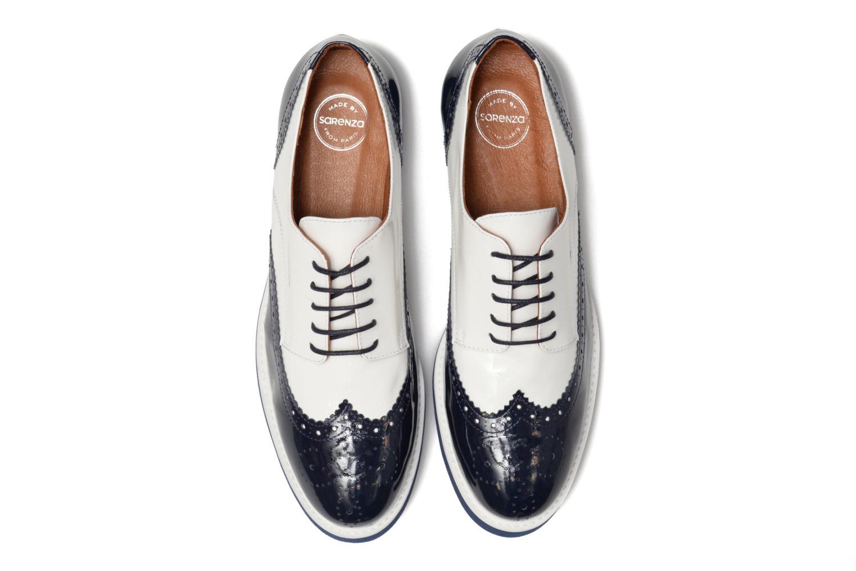 Zapatos con cordones Made by SARENZA Partygloo #3 Blanco vista del modelo