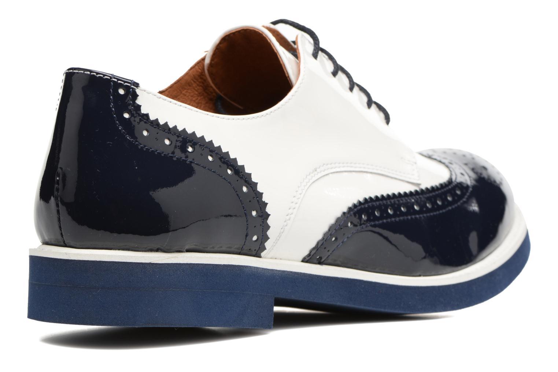 Zapatos con cordones Made by SARENZA Busy Girl Chaussures à Lacets #3 Blanco vista de frente