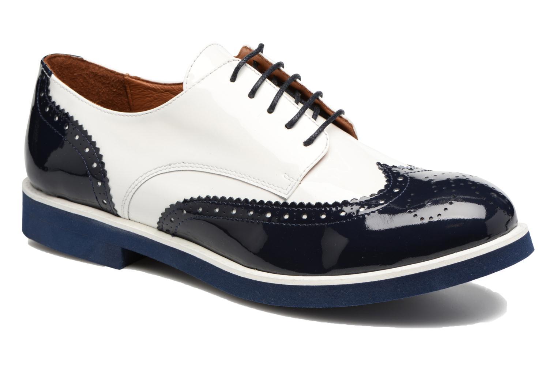 Zapatos con cordones Made by SARENZA Busy Girl Chaussures à Lacets #3 Blanco vista lateral derecha