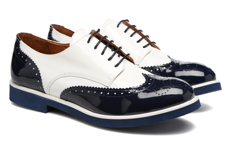 Zapatos con cordones Made by SARENZA Partygloo #3 Blanco vistra trasera