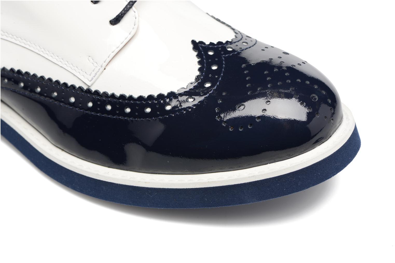 Zapatos con cordones Made by SARENZA Busy Girl Chaussures à Lacets #3 Blanco vista lateral izquierda