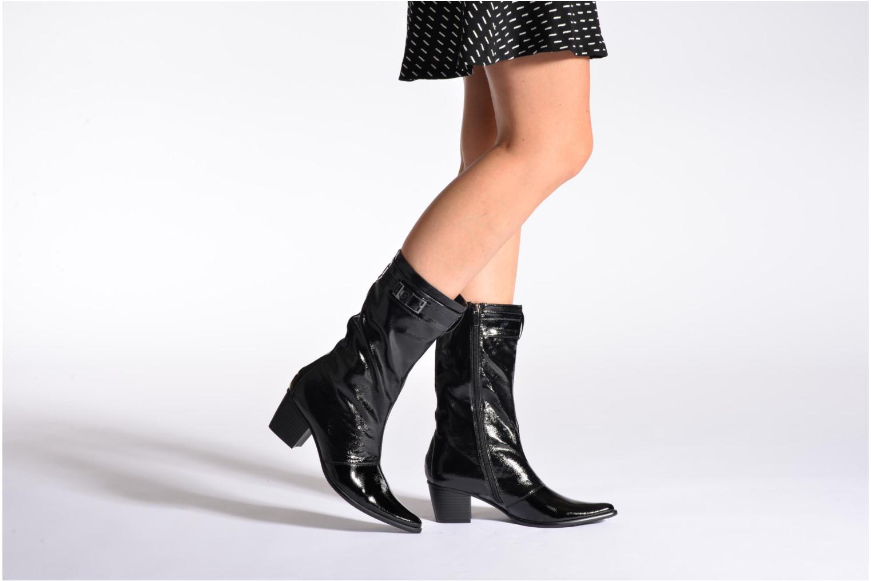 Stiefeletten & Boots Madison Ayoni schwarz ansicht von unten / tasche getragen