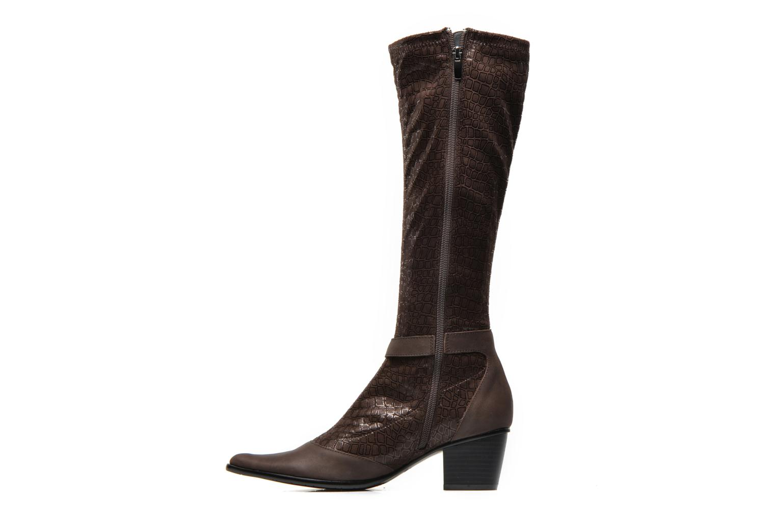 Bottes Madison Ayus Marron vue face