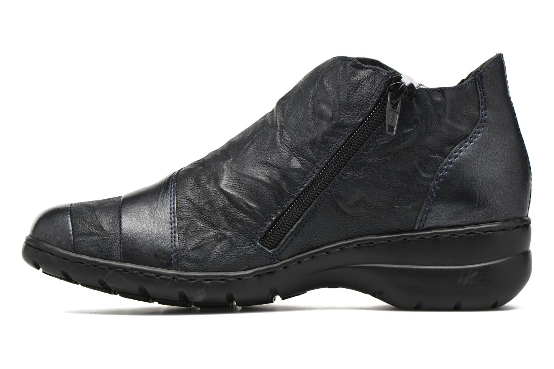 Chaussures à lacets Rieker Fleur L4334 Bleu vue face