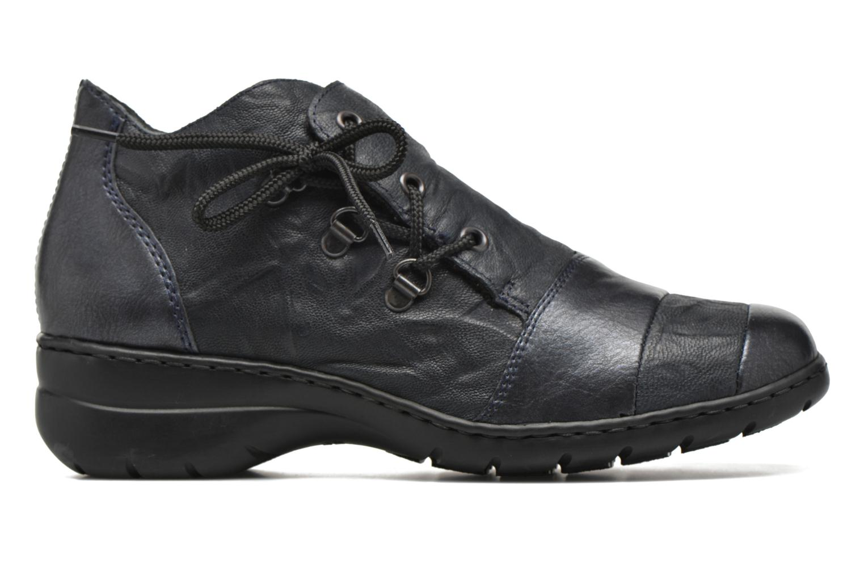 Chaussures à lacets Rieker Fleur L4334 Bleu vue derrière