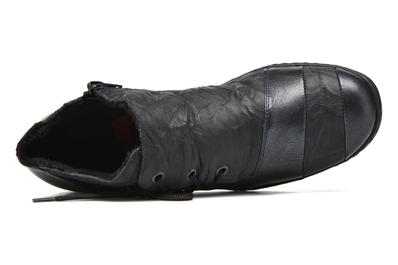 Chaussures à lacets Rieker Fleur L4334 Bleu vue gauche