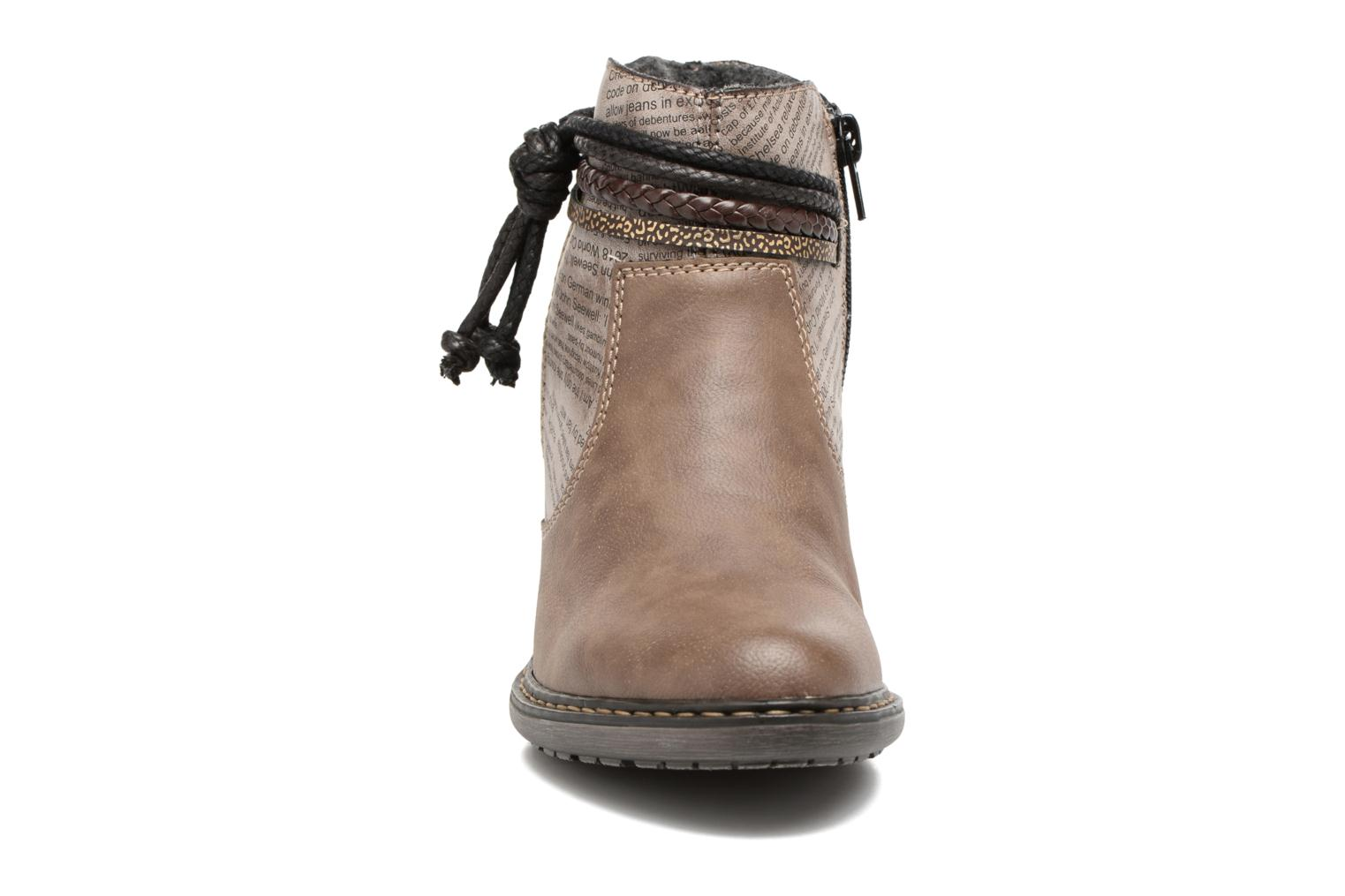 Ankle boots Rieker Alice 55298 Brown model view