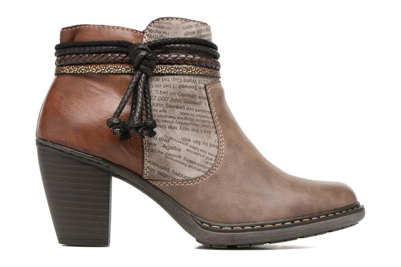 Bottines et boots Rieker Alice 55298 Marron vue derrière
