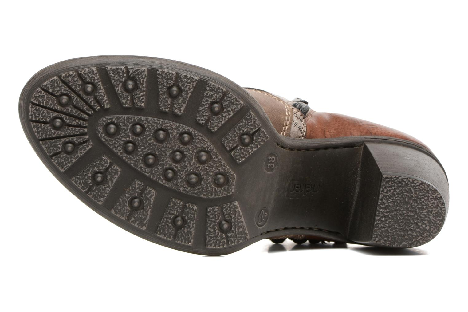 Ankle boots Rieker Alice 55298 Brown view from above