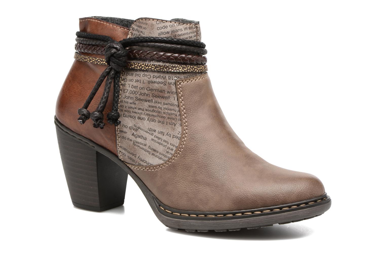 Bottines et boots Rieker Alice 55298 Marron vue détail/paire