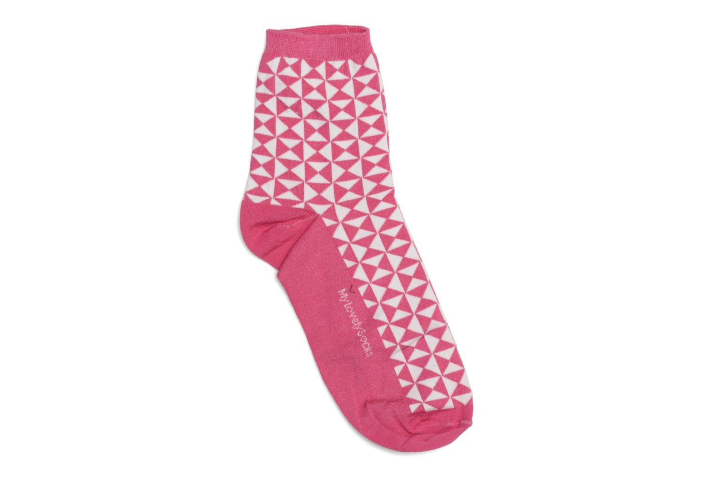 Chaussettes et collants My Lovely Socks Chaussettes Marthe Rose vue détail/paire
