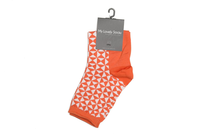 Chaussettes Marthe Pop Orange