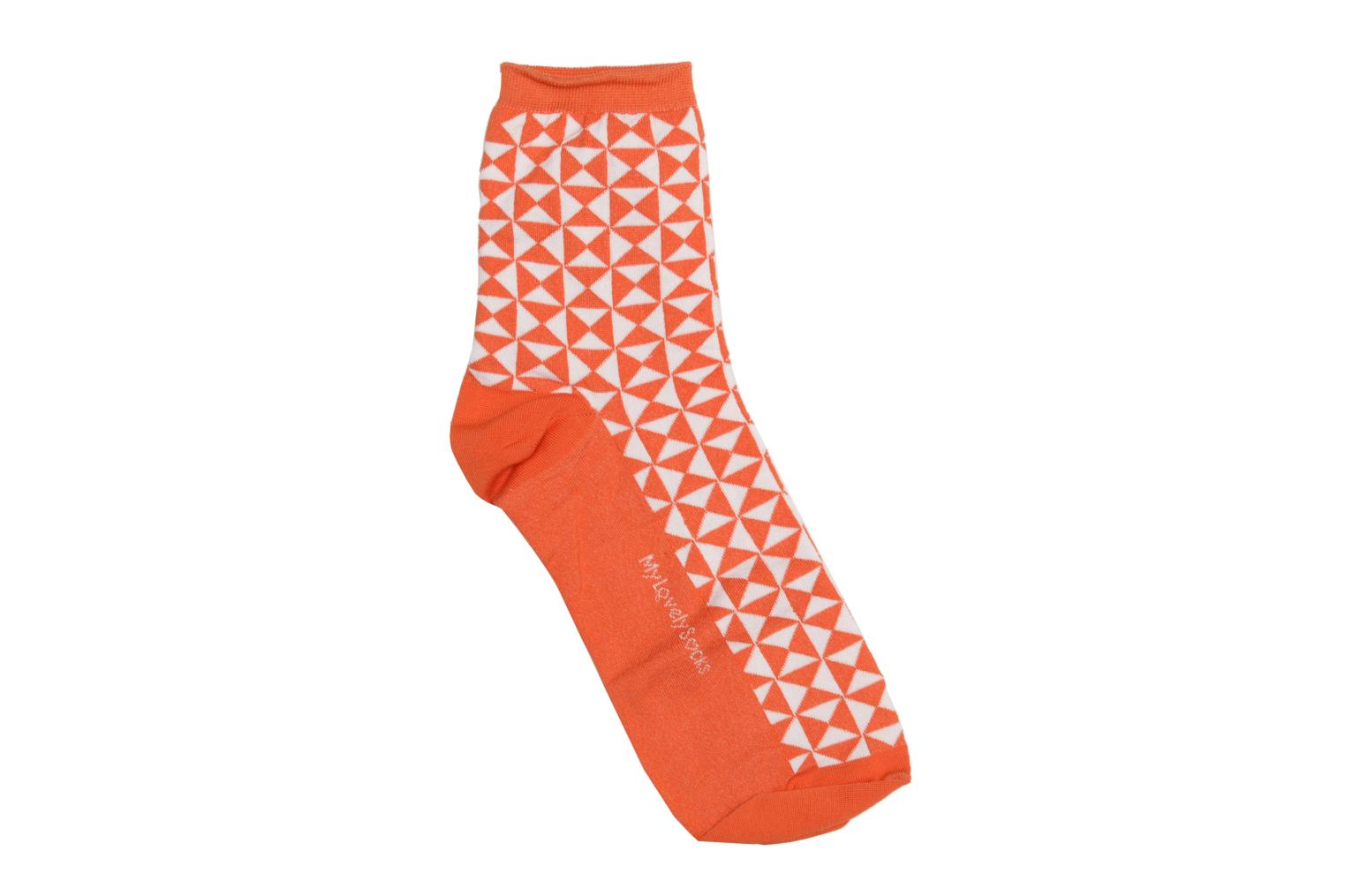 Socken Marthe Pop Orange