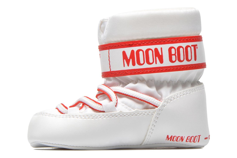 Stivali Moon Boot Moon Boot Crib Bianco immagine frontale