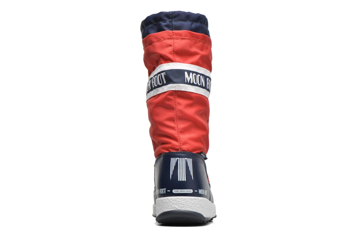 Bottes Moon Boot Moon Boot W.E. W.Fall Jr Wp Rouge vue droite