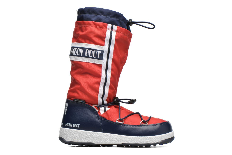 Bottes Moon Boot Moon Boot W.E. W.Fall Jr Wp Rouge vue derrière