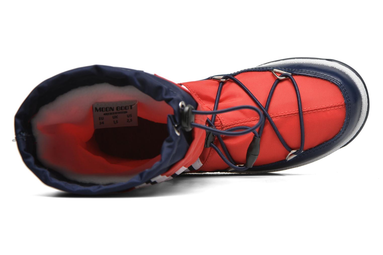 Bottes Moon Boot Moon Boot W.E. W.Fall Jr Wp Rouge vue gauche