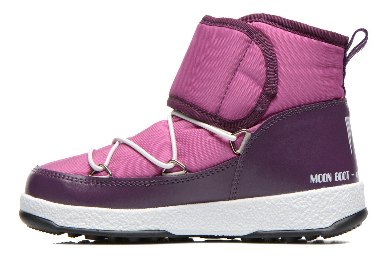 Bottines et boots Moon Boot Moon Boot Jr Strap Violet vue face