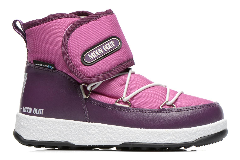 Bottines et boots Moon Boot Moon Boot Jr Strap Violet vue derrière