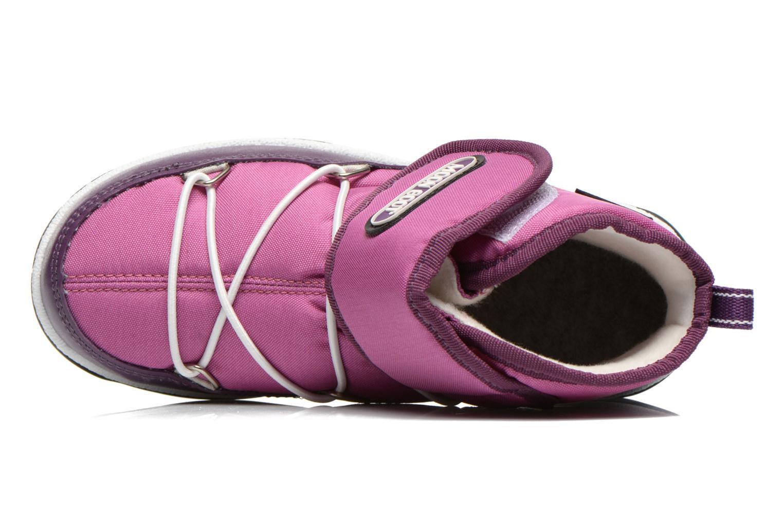 Bottines et boots Moon Boot Moon Boot Jr Strap Violet vue gauche