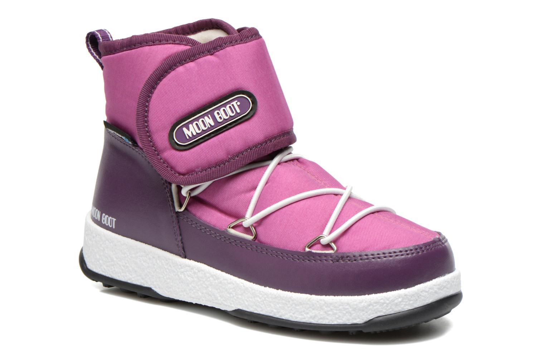 Bottines et boots Moon Boot Moon Boot Jr Strap Violet vue détail/paire