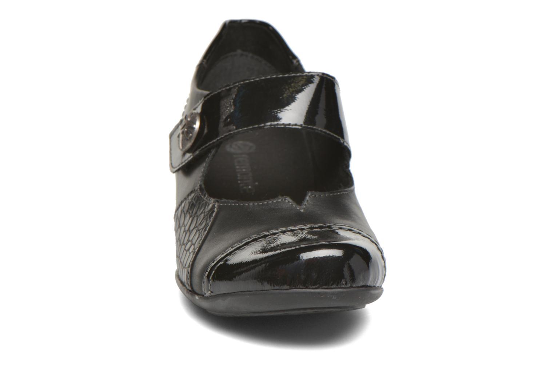 Escarpins Remonte Izahy D7346 Noir vue portées chaussures