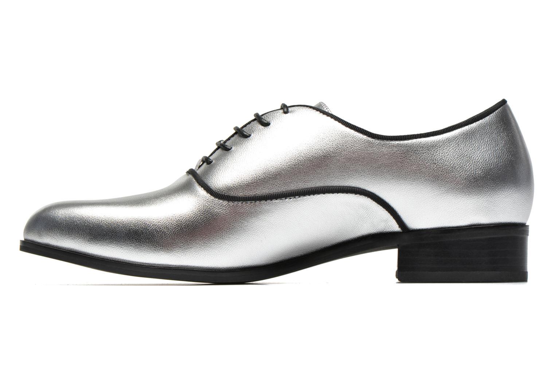 Chaussures à lacets Shoe the bear Gigi Argent vue face